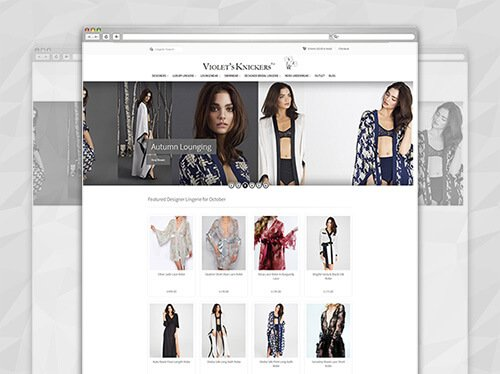 Lingerie ecommerce website