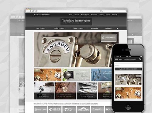 interiors ecommerce website