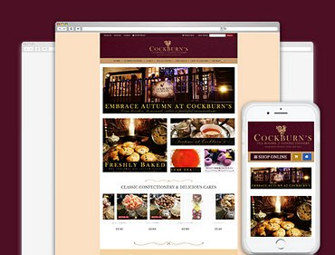 Confectionery ecommerce website