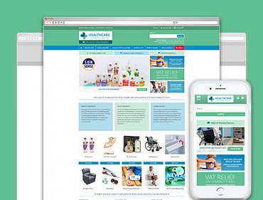 Medical Supplies ecommerce website