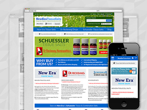 Homeopathic Remedies from New Era, Dr Reckeweg and Schuesseler